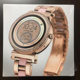 マイケルコース(Michael Kors)の【新品未開封】マイケルコース  スマートウォッチ Sofie(腕時計)