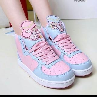 ゆめかわ キキララ スニーカー 靴 (スニーカー)