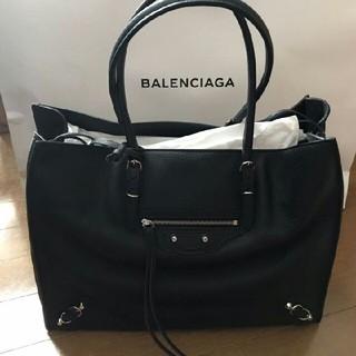 バレンシアガ(Balenciaga)のバレンシアガ ペーパー バッグ ブラック(ハンドバッグ)
