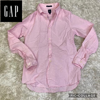 ギャップ(GAP)の【爽やか】GAP ピンクシャツ ギンガムシャツ ギャップ(シャツ)