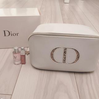 ディオール(Dior)のdiorの限定ポーチとマキシマイザーとジョイ(ポーチ)