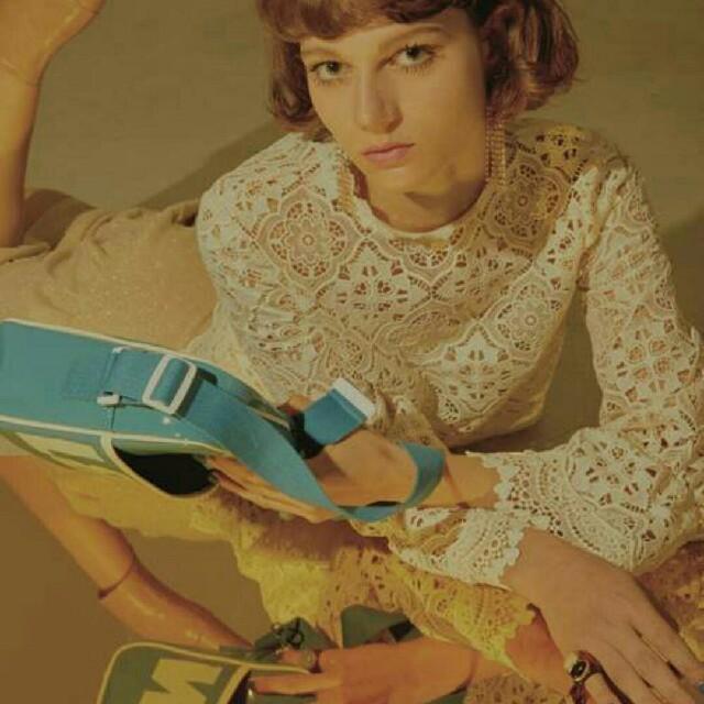 Lily Brown(リリーブラウン)のLily  brown ♡ケミカル レース トップス レディースのトップス(シャツ/ブラウス(長袖/七分))の商品写真