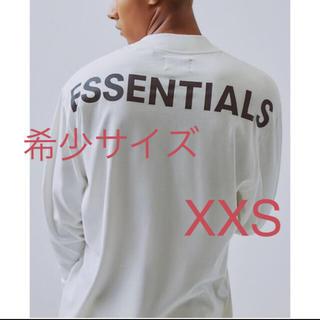 フィアオブゴッド(FEAR OF GOD)のessentials ロンT リフレクディブ 超希少 XXSサイズ (Tシャツ(長袖/七分))