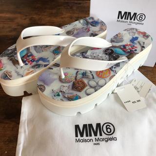 エムエムシックス(MM6)のMaison Margiela MM6 マルジェラ サンダル レディース 新品(サンダル)