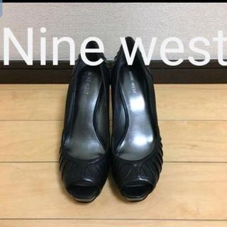 ナインウエスト(NINE WEST)のNine West ヒールパンプス黒23、5(ハイヒール/パンプス)