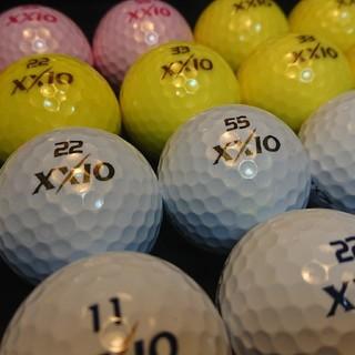 ダンロップ(DUNLOP)の【美品】スーパーソフトX 24球 ゼクシオ ロストボール ゴルフボール(その他)