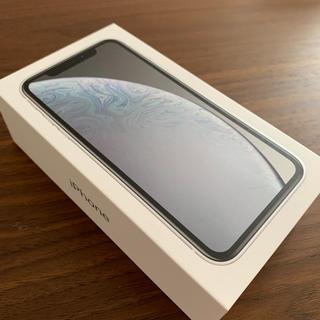 iPhone - 〔新品・送料無料〕iPhone XR 128GB SIMフリー 白 1台