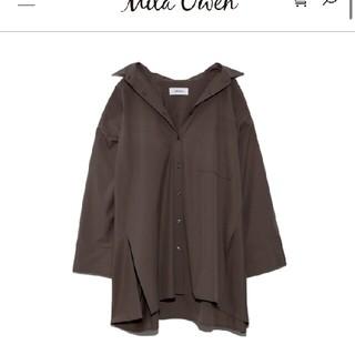 ミラオーウェン(Mila Owen)のミラオーウェン ポンチョ風  ボリュームシャツ(シャツ/ブラウス(長袖/七分))