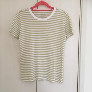 ムジルシリョウヒン(MUJI (無印良品))のMUJI オーガニック ボーダーTシャツ(Tシャツ(半袖/袖なし))