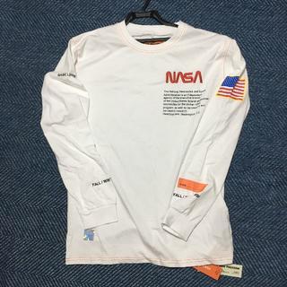 シュプリーム(Supreme)のHeren Preston ✖ NASA  ロンT  ホワイト 2019A/W(Tシャツ/カットソー(七分/長袖))