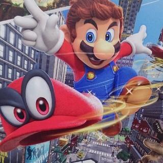 Nintendo Switch - スーパーマリオオデッセイソフト