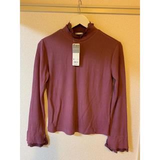 ジーユー(GU)の#GU  レースレイヤードT(長袖)(Tシャツ(長袖/七分))