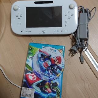 ウィーユー(Wii U)のwii u ゲームパッド ジャンク品(家庭用ゲーム機本体)