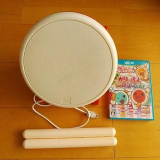 ウィーユー(Wii U)の太鼓の達人 Wii Uば〜じょん!コントローラー「太鼓とバチ」同梱版(家庭用ゲームソフト)