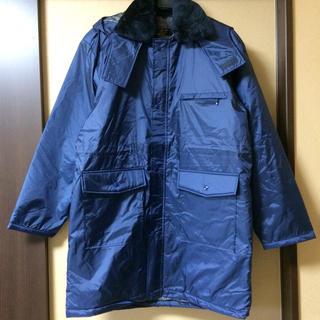 ダウンメンズ作業防寒ジャケット新品3Lhightachibana高性能警備コート(ダウンジャケット)