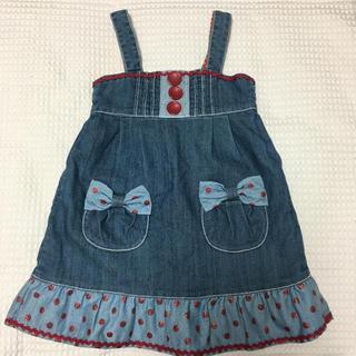 シャーリーテンプル(Shirley Temple)のシャーリーテンプル  ジャンパースカート  110(スカート)