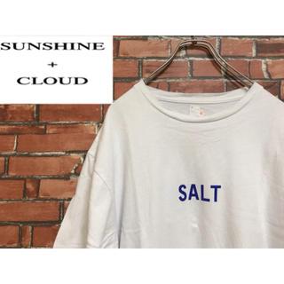sunshin +cloud tシャツ SALT XL(Tシャツ/カットソー(半袖/袖なし))