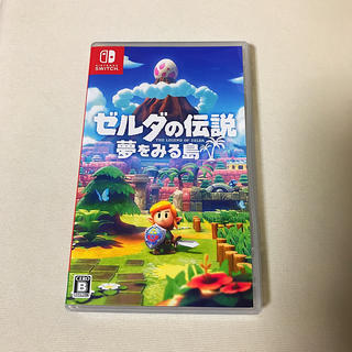 Nintendo Switch - 美品 ゼルダの伝説 夢をみる島 スイッチ リメイク版