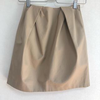バーニーズニューヨーク(BARNEYS NEW YORK)の美品 YOKO CHAN ヨーコチャン コットンプリーツ スカート(ミニスカート)