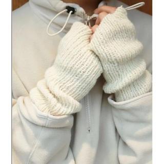 トゥデイフル(TODAYFUL)のTODAYFUL ニットアームウォーマー(手袋)