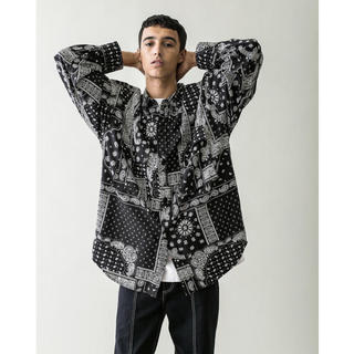 BEAUTY&YOUTH UNITED ARROWS - MONKEY TIME PAIZLY PRINT OVER SIZED CPO