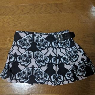 ミュウミュウ(miumiu)のmiumiuハート柄スカート(ミニスカート)