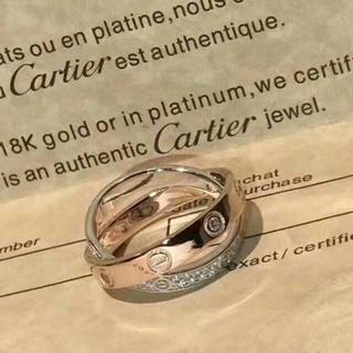 カルティエ(Cartier)のカルティエ ラブリング フルダイヤ(リング(指輪))