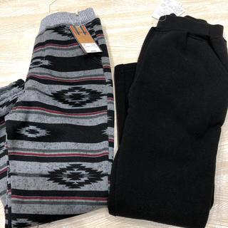 しまむら - 新品♡ 厚手パンツ ズボン 120 セット 裏起毛パンツ