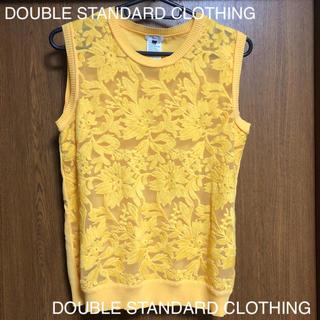 DOUBLE STANDARD CLOTHING - DOUBLE STANDARD CLOTHING レーストップス