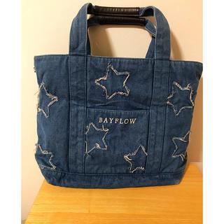 BAYFLOW - ベイフロー‧✧̣̥̇‧トートバッグ 星 Lsize