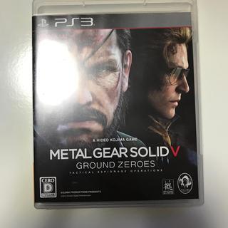 コナミ(KONAMI)のMETAL GEAR SOLID 5 GROUND ZEROES PS3版(家庭用ゲームソフト)