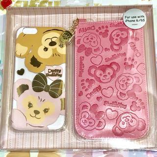 Disney - 香港ディズニー♪ダッフィ&シェリーメイ iPhoneケース
