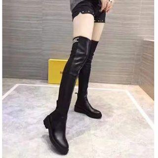 FENDI - 美品レディース FENDI 長靴、本革