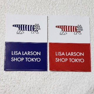 Lisa Larson - リサ・ラーソン 非売品 シール 2枚
