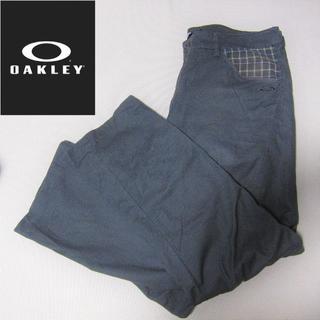 オークリー(Oakley)のオークリー◆ゴルフパンツ◆グレー(ウエア)