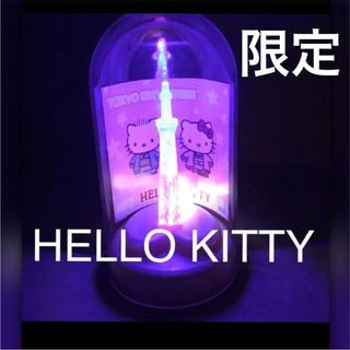 サンリオ(サンリオ)のレア ご当地キティ スカイツリー 限定 ライトアップ フィギュア キティちゃん(アニメ/ゲーム)