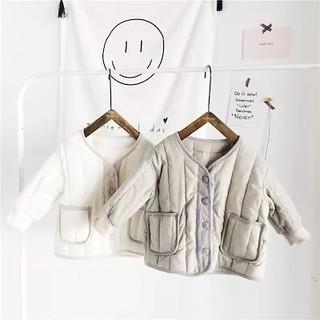 【韓国子供服】ふわふわキルティングジャケット