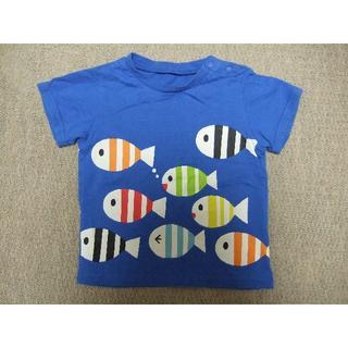 ベルメゾン(ベルメゾン)のベルメゾン しましまぐるぐる Tシャツ 80cm(Tシャツ)