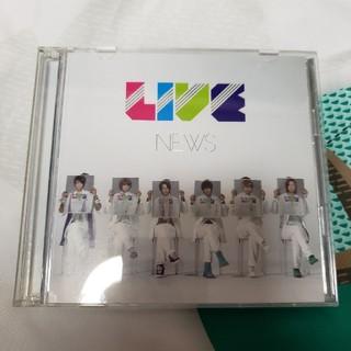 NEWS LIVE DVD付(アイドルグッズ)