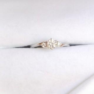 ジュエリーツツミ(JEWELRY TSUTSUMI)の天然ダイヤモンドリング(リング(指輪))