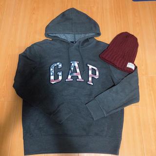 ギャップ(GAP)のGAPトレーナー ニット帽(トレーナー/スウェット)