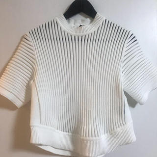 ルシェルブルー(LE CIEL BLEU)のタグ新品♡ルシェル♡トップス(Tシャツ(半袖/袖なし))