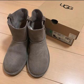アグ(UGG)のUGG ミニ グレー US5 美品(ブーツ)