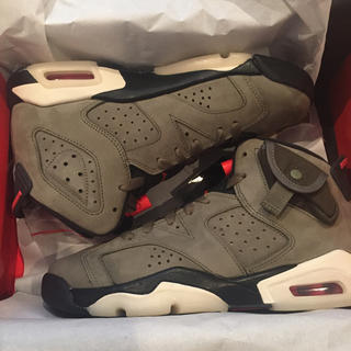 ナイキ(NIKE)のTravis Scott Nike Air Jordan 6 24cm(スニーカー)