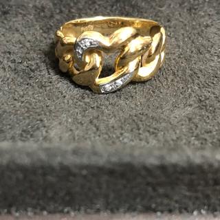 ハートのリング ♡ YG 15号(リング(指輪))