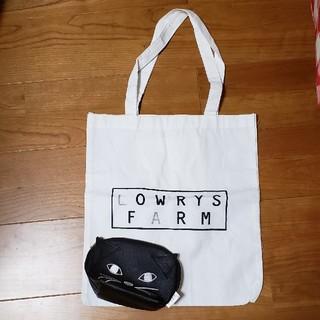 ローリーズファーム(LOWRYS FARM)のローリーズファーム トートバッグ ねこポーチ(トートバッグ)