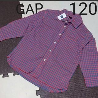 ギャップ(GAP)のGAP チェックシャツ(ブラウス)