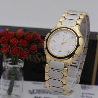 サンローラン(Saint Laurent)の付属品有り【新品電池】Yves Saint Laurent 316879/美品(腕時計(アナログ))