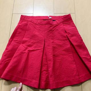 ギャップ(GAP)のギャップ GAP 赤 スカート(ひざ丈スカート)