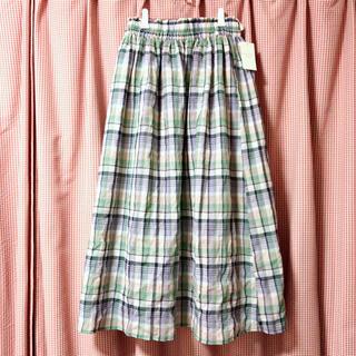 サマンサモスモス(SM2)のチェックスカート(ロングスカート)